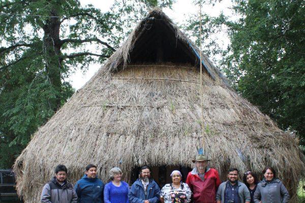 Visita Mapuche a Ruka Huisca
